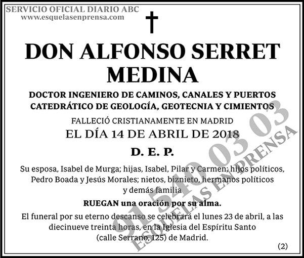 Alfonso Serret Medina